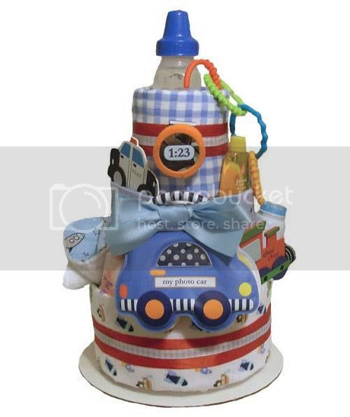 Vroom! Vroom! Diaper Cake