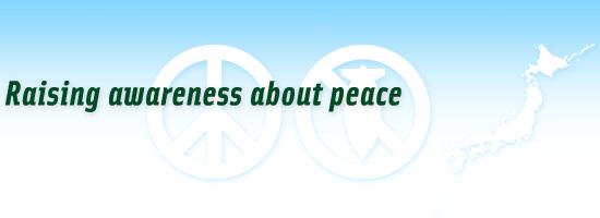 Raising awareness about peace