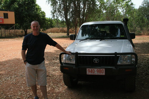 James Duncan with his Prado