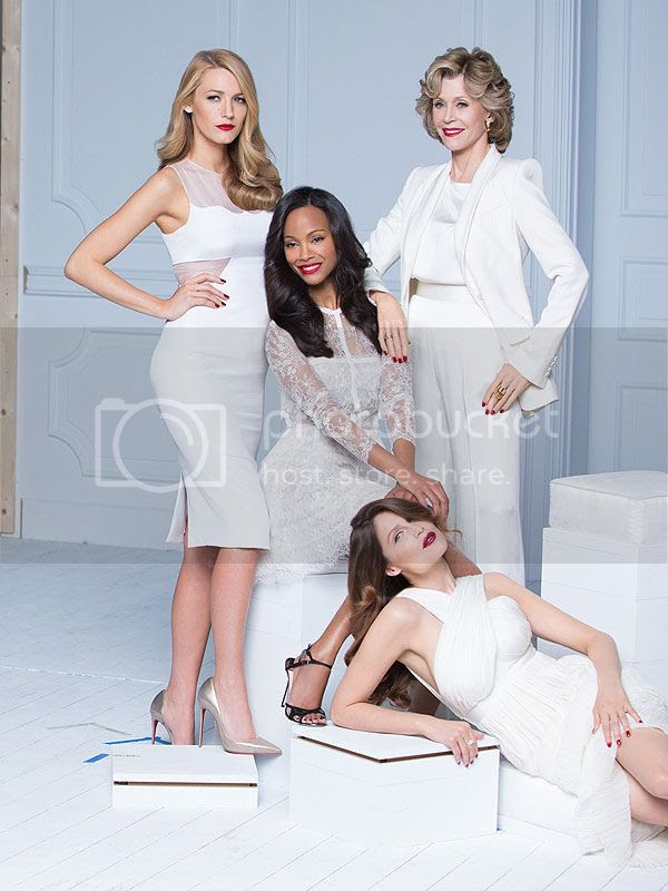 Blake Lively,  Zoe Saldana, Eva Longoria, and More For New L'Oréal Paris Campaign photo loreal-new-campaign-blake-lively.jpg