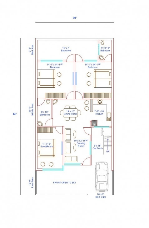 Best House Plan 30 X 35 Lovely Awesome 35 X 60 House Plans Best
