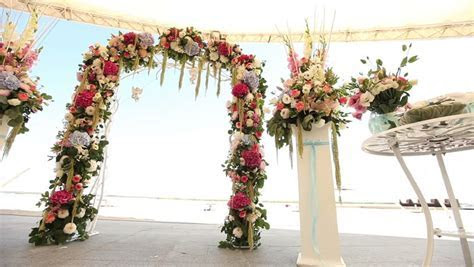 Wedding Decorations On The Beach, Wedding Interior