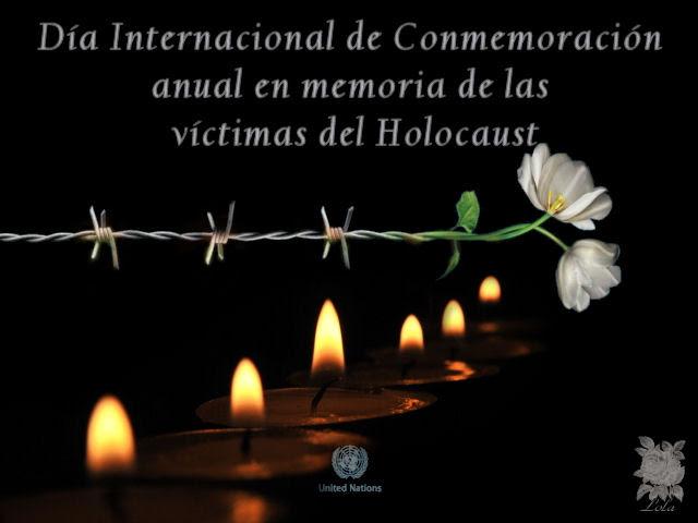 Día Internacional de Conmemoración anual en memoria de las víctimas del Holocaust