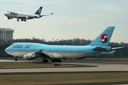 HL7493 - Korean Boeing 747-400