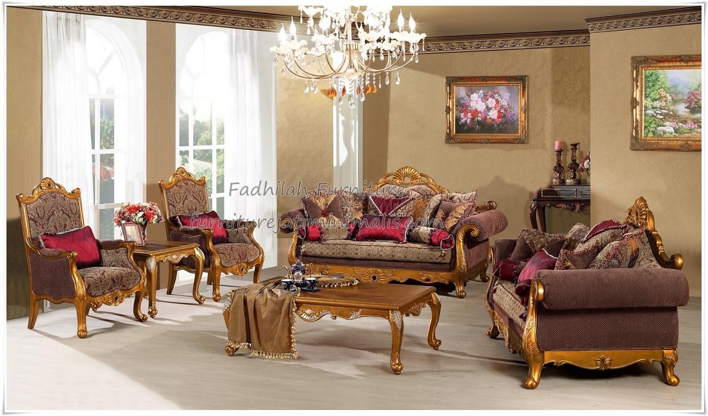 Set Sofa Tamu Ukirset Sofa Tamuset Sofa Ruang Tamu Furniture