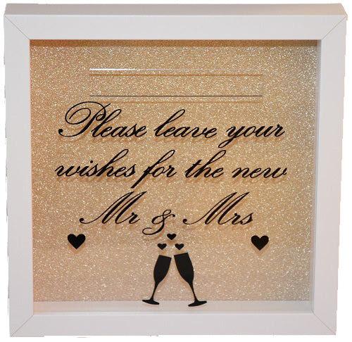 Wedding Wishes Mr Mrs Frame Bellaroma Gifts