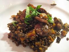 lentil stew / lentejas