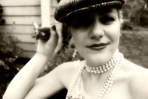 a lady needs a hat