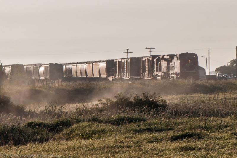 CP 9719 at Belle Plaine Saskatchewan