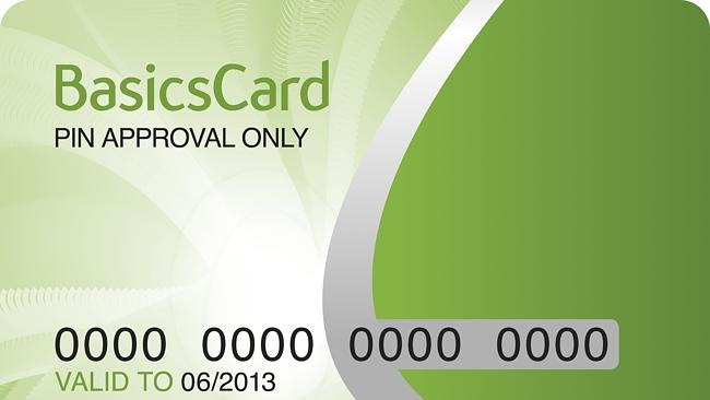 A cashless welfare card trial, similar the the Basics card which was trialled in some sub