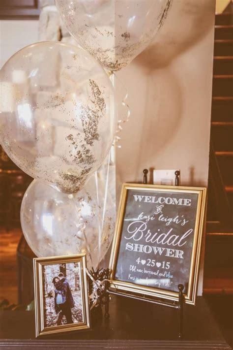 Sophisticated Kate Spade Inspired Bridal Shower   Bridal
