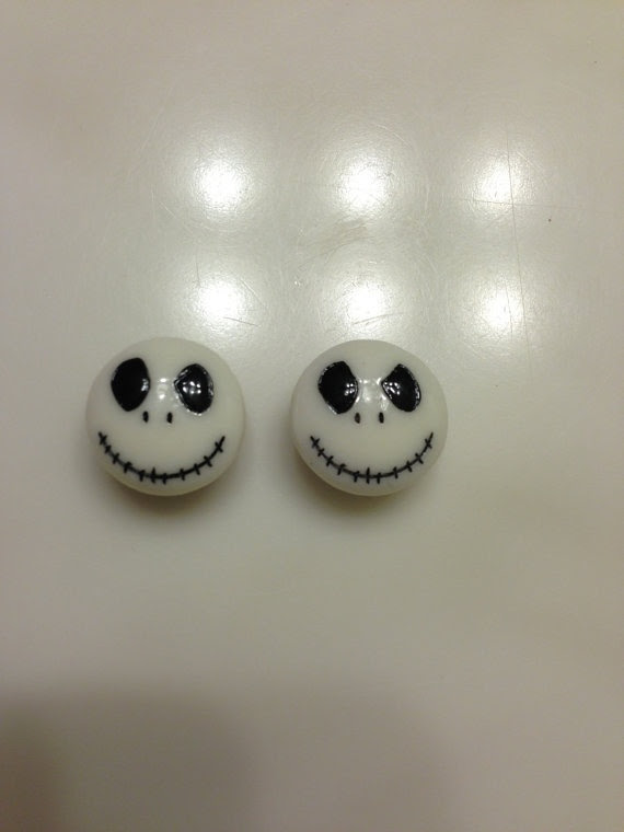 Nightmare+Before+Christmas+Ear+Plugs/Gauges+by+RockabillyBowtique,+$15 ...