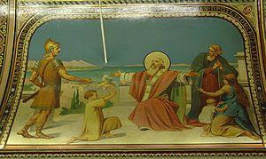 Church Icon at St Polycarp's Roman Catholic Ch...