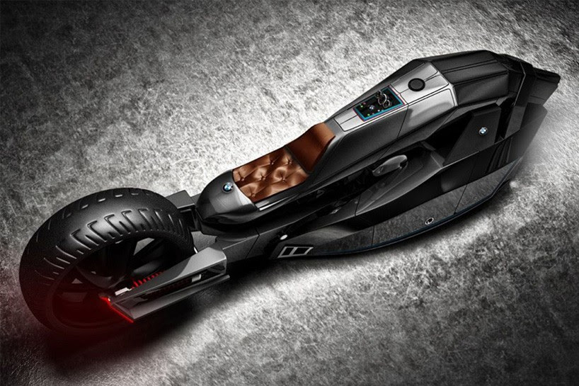 bmw titan concept motorcycle designboom