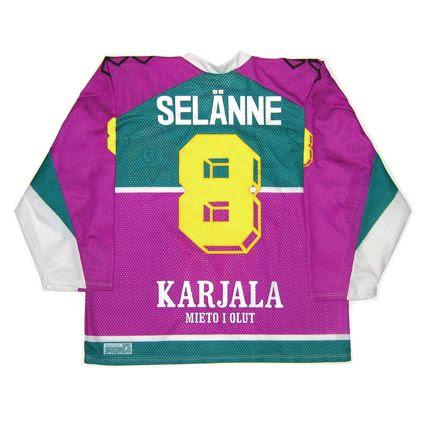 Finland Jokerit Helsinki 1991-92 jersey photo FinlandJokeritHelsinki1991-92B.jpg