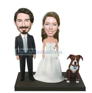 Discount Collectible bobbleheads For Wedding Cake Toppers