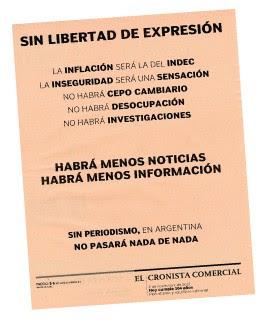 Sin liberdad de expresión (Foto: reprodução)