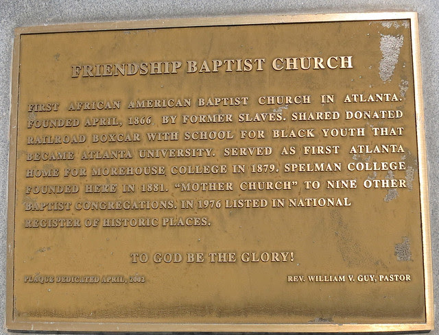 IMG_2699-2013-07-26-Friendship-Baptist-Church-Atlanta-historical-Plaque-placed-April-2002