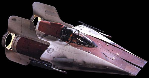 An RZ-1 starfighter...also known as the A-Wing.