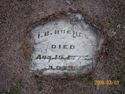 Issac Butler Hughes gravestone