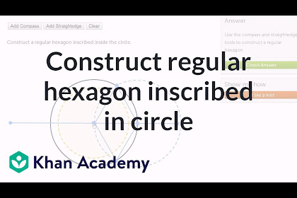 Interior And Exterior Angles Of A Hexagon