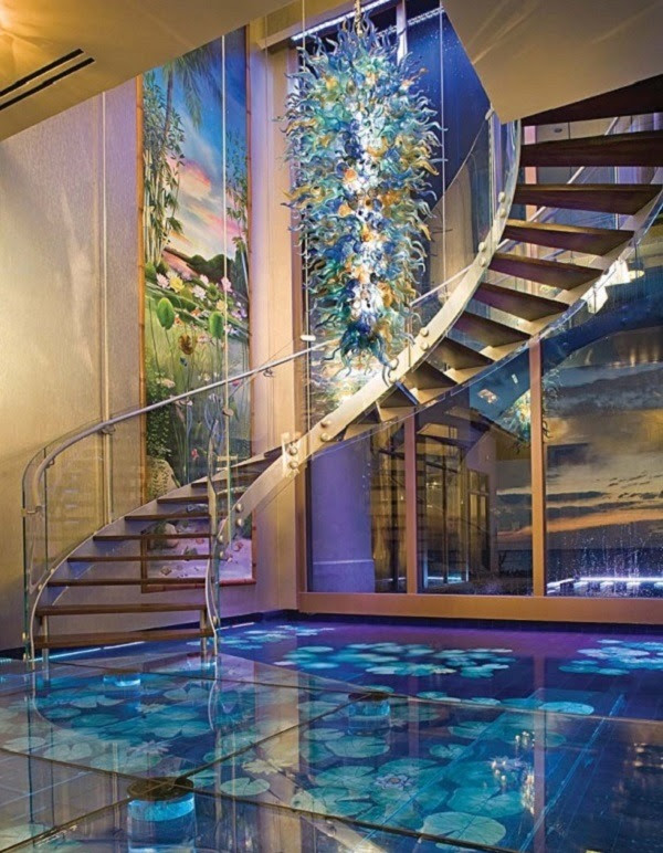 Beautiful Water Floors and Stairs