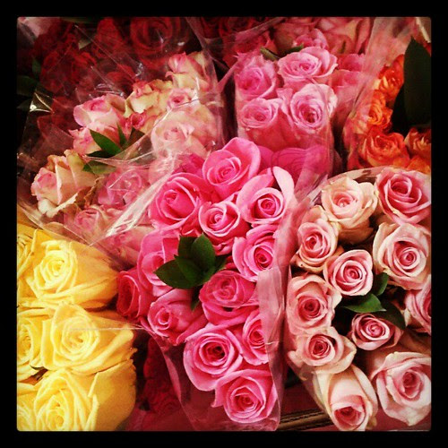 Beauteous! Happy Valentine's Day! #flowers #love #colorful