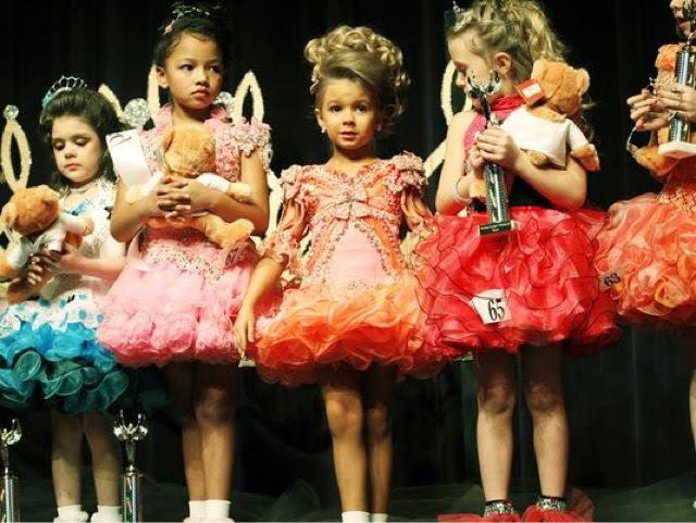 <p>Concurso de belleza infantil, en Estados Unidos.</p>