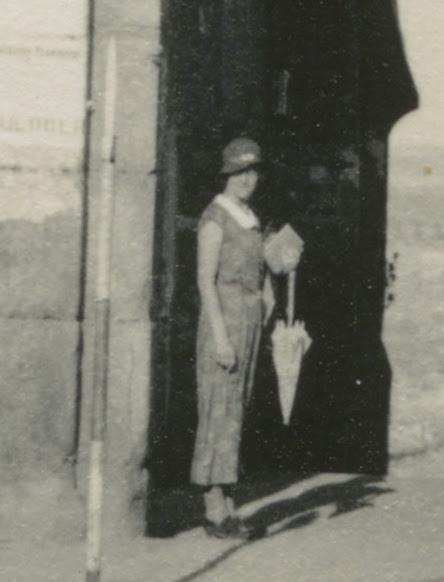 Mary Johnston (?) en 1935. Fotografía de Dorothy E. Johnston © The Royal Geographical Society, London