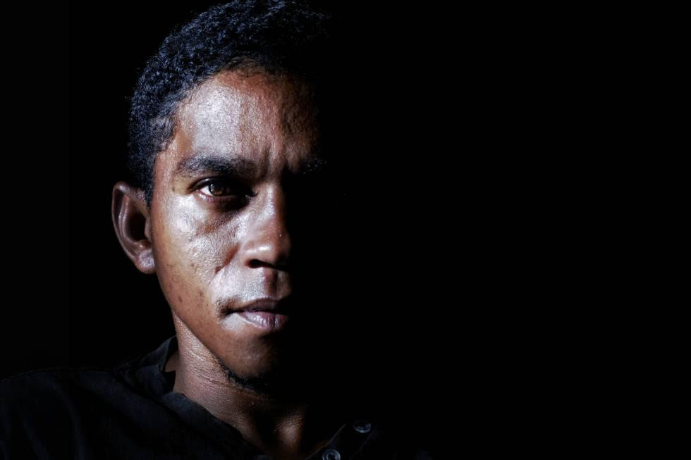 Elenilson da Conceição fue víctima de esclavitud. Hoy vive en libertad en Nova Conquista.