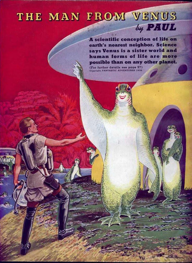 Paul - The Man from Venus (Fantastic Adventures v01 n02