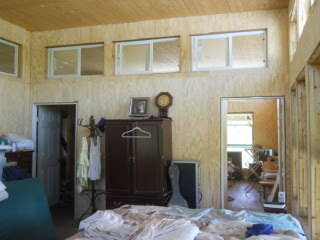 Bedroom Internal Siding, East Wall