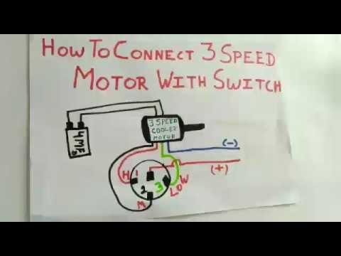 3 Speed Ceiling Fan Wiring Diagram