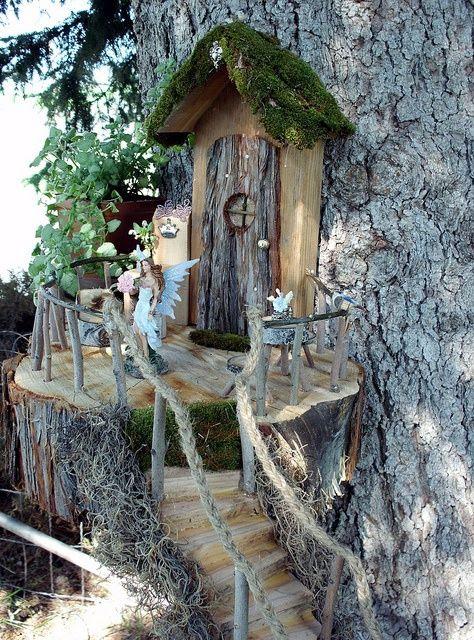 miniature tree houses 32
