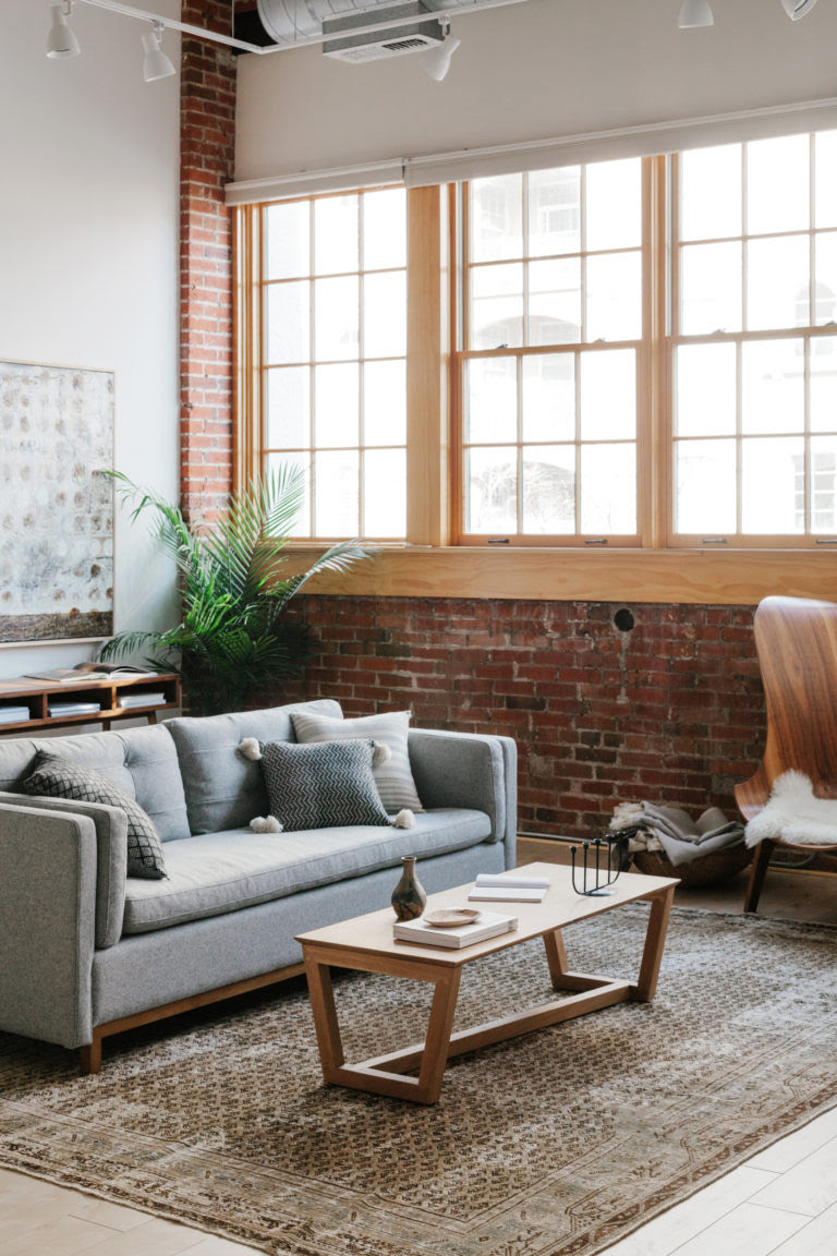 A Modern Industrial Living Room Reveal with Guest House ...
