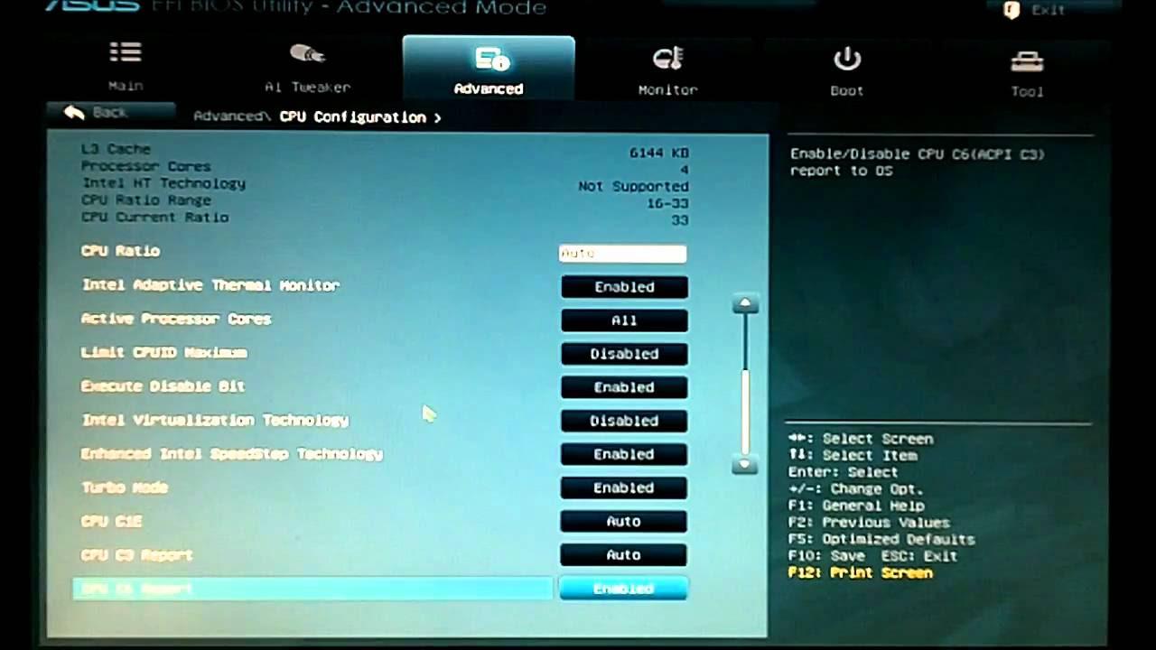 ASUS P8Z68-V PRO UEFI BIOS - YouTube