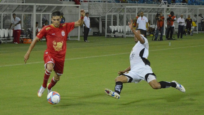 América-RN x Globo FC - Rodrigo Pimpão (Foto: Marcelo Montenegro/Futebol Potiguar)