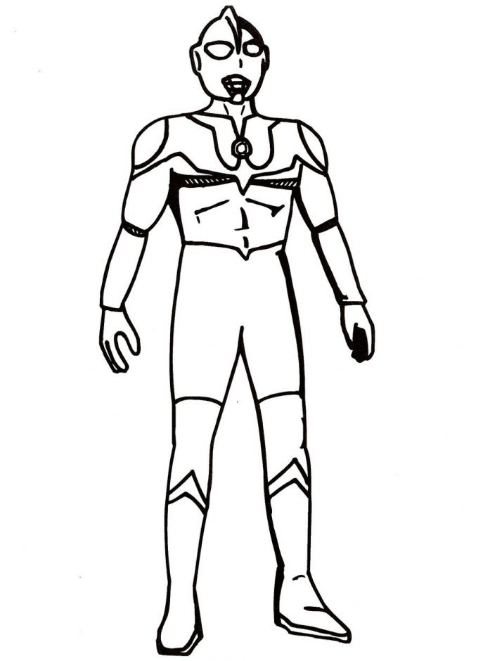 4800 Ultraman Coloring Pages Printable Images & Pictures In HD