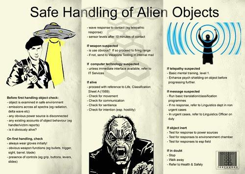 safe handling of alien objects