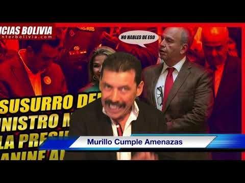 Arturo Murillo, Cumple Amenaza y Arremete contra Observadores Int, a Hor...