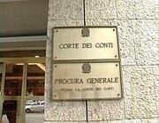 L'ingresso della Corte dei Conti in viale Mazzini