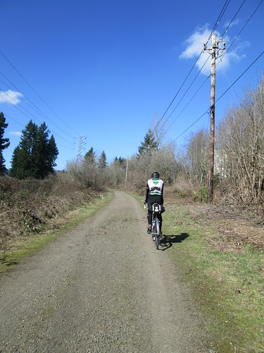 Kevin on the Springwater Trail