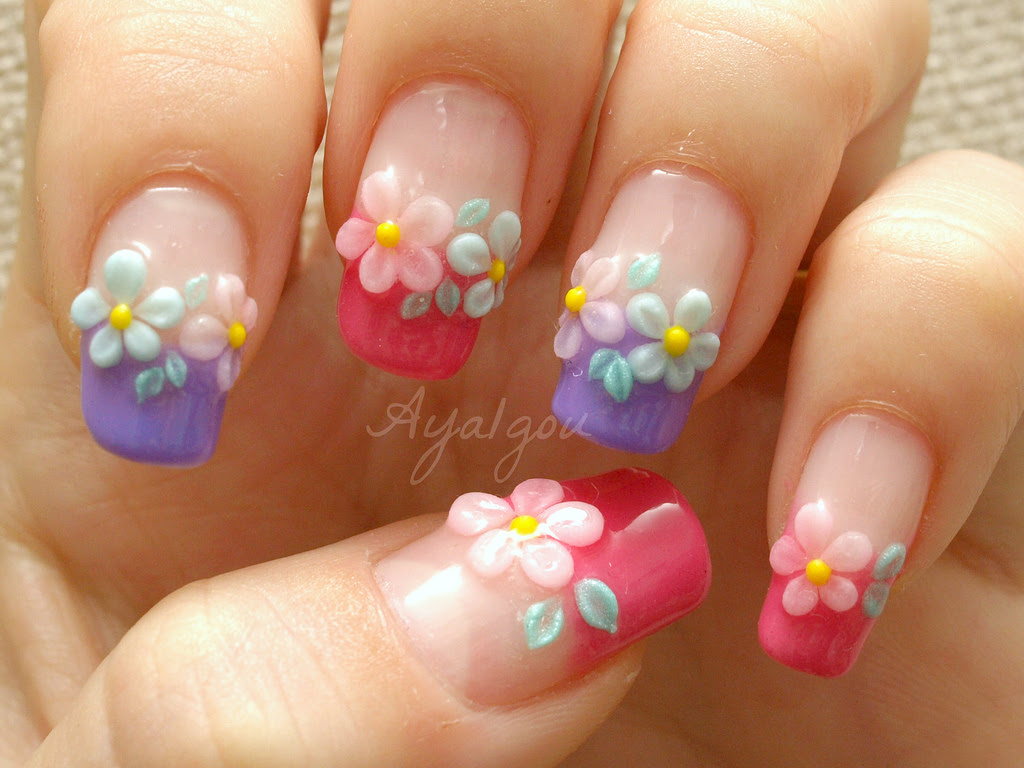PreWed 3D Nails - Nail Art Design Ideas Collection