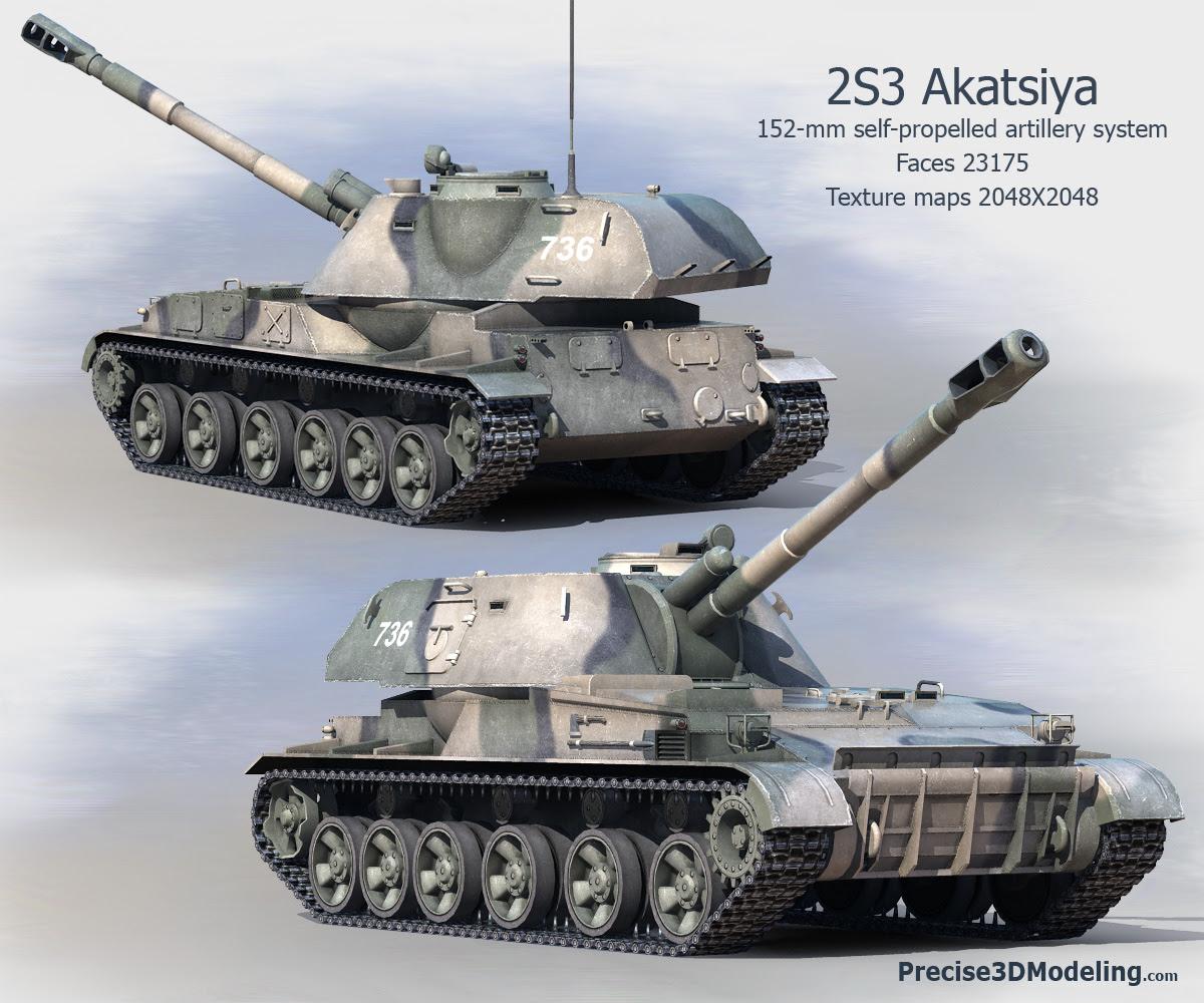 Resultado de imagem para 2S3 Akatsiya