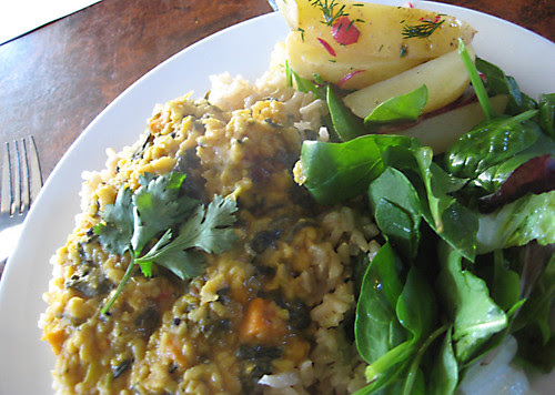 Thai Vegetable Curry with Brown Rice