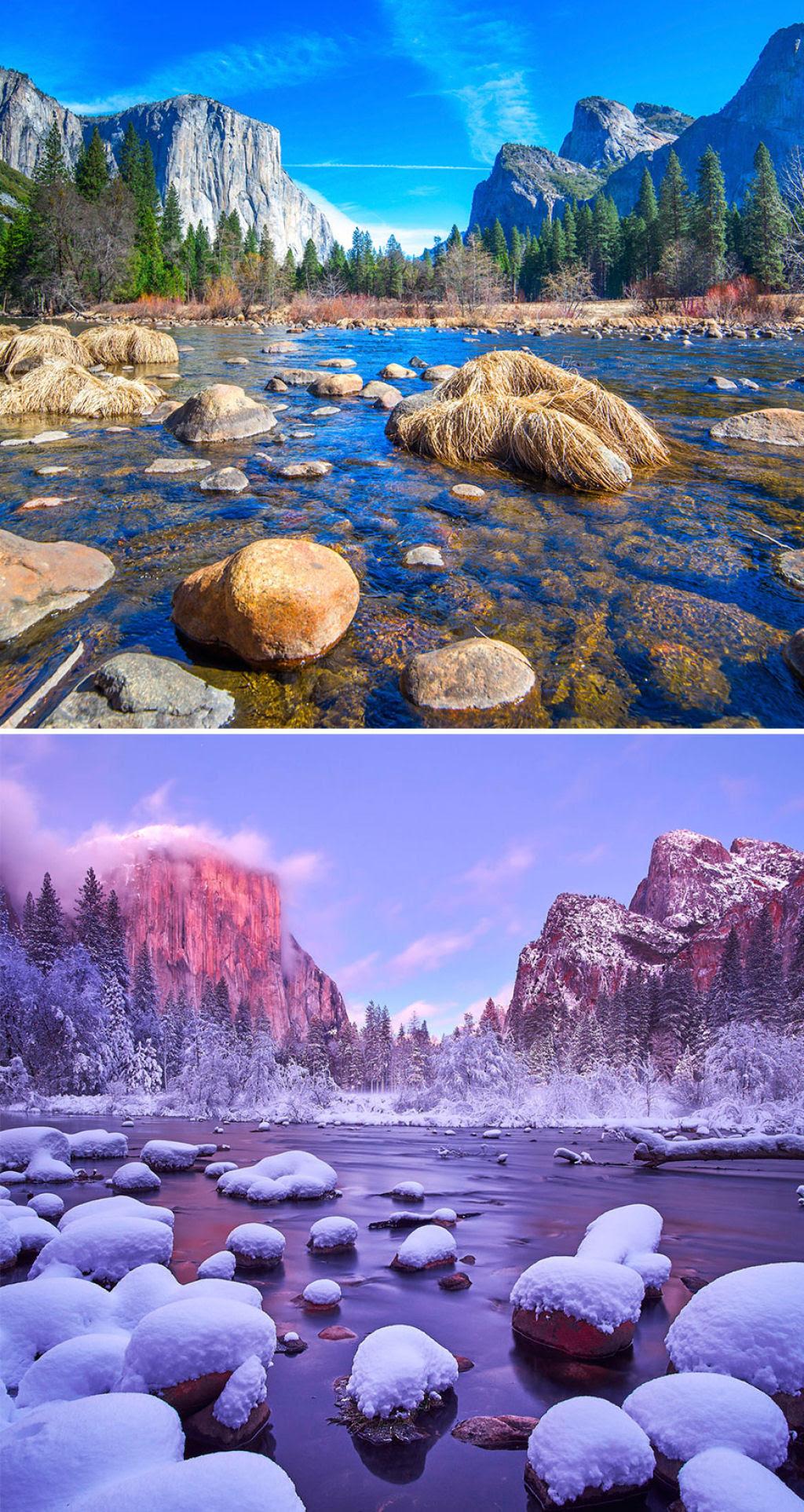 15 fotos de antes e depois da transformações invernais 06