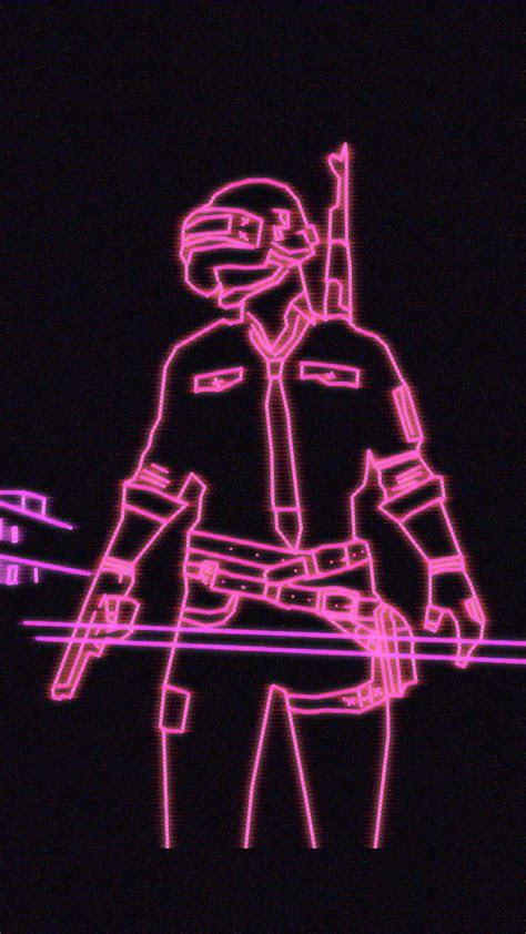 neon light playerunknowns battlegrounds pubg