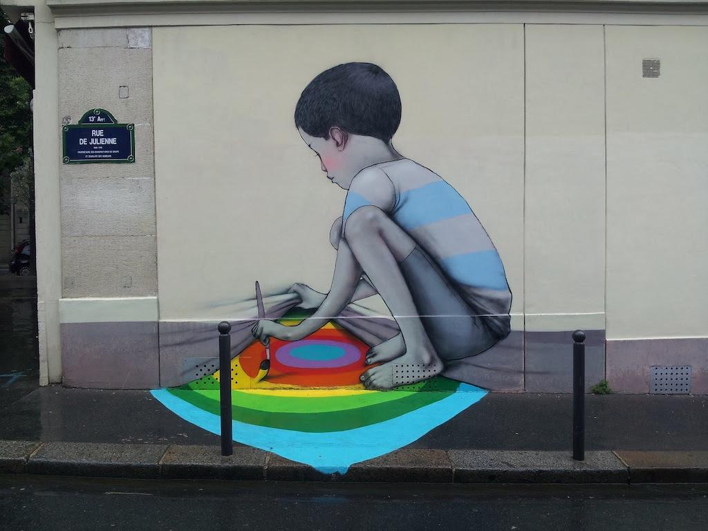 Street Art by Seth in Paris, France 2