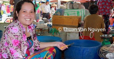Vietnam || Tra Cu Rural Market || Tra Vinh Province
