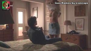 Inês Ramos sensual na novela A teia